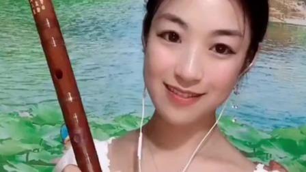 《又见山里红》笛子演奏,E调瑾儿乐坊学生专用笛子
