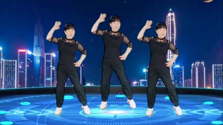郴州冬菊广场舞【大风来了浪一浪】时尚大众64步健身舞