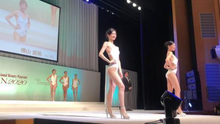 国际小姐日本锦标赛! 第2部分泳装走秀