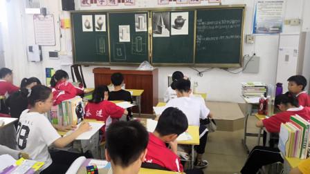 儋州市第二中学初一(7)班第五次素描课学习剪影