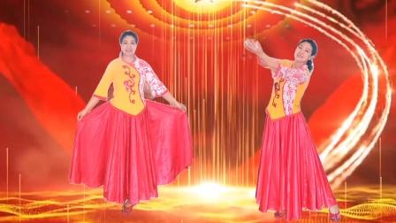 一支舞蹈,聊表辣妈爱国情《我爱你中国 》