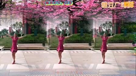 泰和县长寿健身队红梅赞教学用