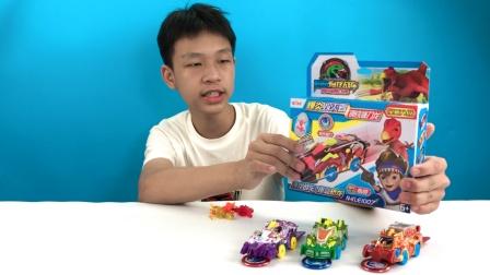 小朋友最爱对战爆龙战车玩具