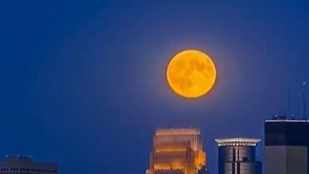 期待!下周三有超级红月亮