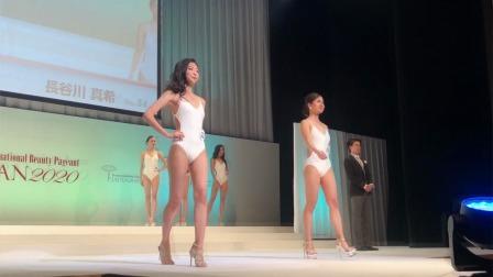 比基尼美女模特走秀,国际小姐日本锦标赛