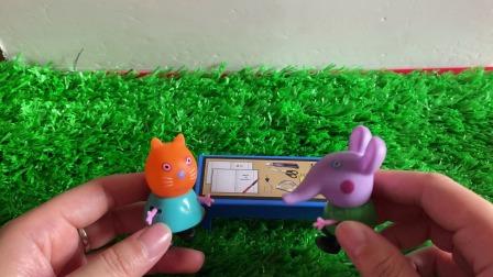 少儿益智小故事:小猫和小象