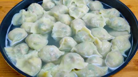 夏天多吃这馅饺子,补铁补钙,1块钱做一大锅,出锅家人都说香