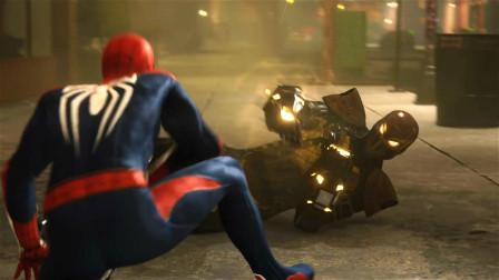 漫威蜘蛛侠:震动人刚逃出监狱就碰到了蜘蛛侠,真是倒霉