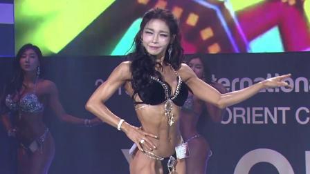 健身模特大赛,肌肉美女