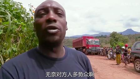 非洲牛人的小破车,竟然能装下15个人,颠覆三观