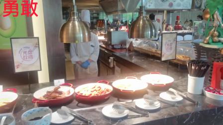 在沈阳,499元五星级酒店自助早餐包括哪些?什么样?
