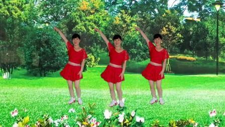 郴州冬菊广场舞【后海酒吧】简单24步嗨曲附分解教学
