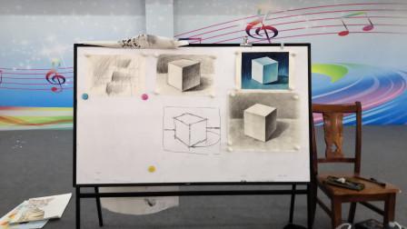 儋州市文化馆公益成人国画班第二次素描课学习剪影