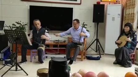 """现代京剧《杜鹃山》选段""""乱云飞松涛吼……""""京胡:江林院长☞京二胡:张雪峰老师☞演唱:余静"""