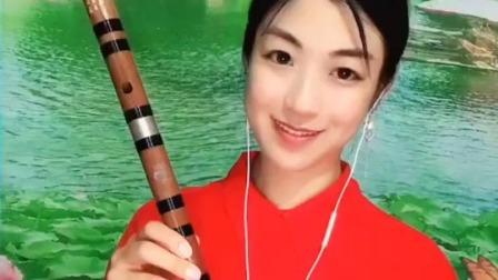 《禅韵》笛子演奏,D调两节瑾儿乐坊精制笛子