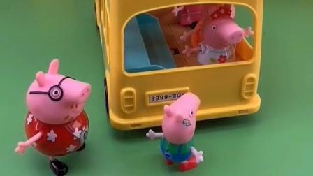 猪爸爸的车超载了