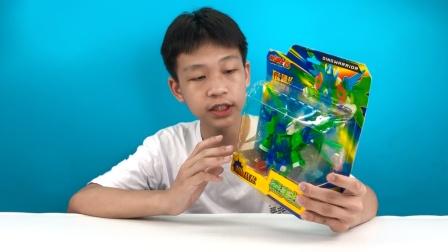 今天拿出放置多年斗龙战士变形玩具