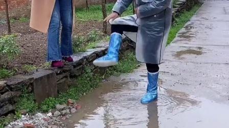 下雨天一定要有一双这样的雨鞋套
