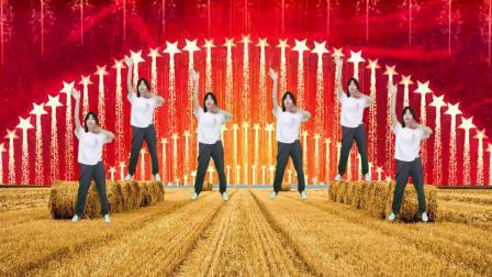 夏季广场舞《一路生花》每天晨练跳跳,舞出美丽好身材