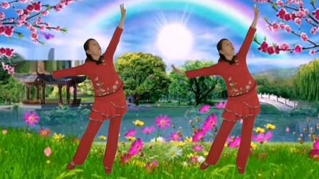 一支动作舒缓简单的舞蹈《三月三》跟着辣妈一起跳一跳,强身健体