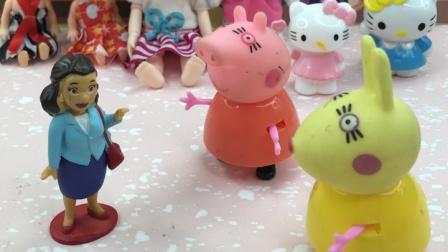 猪妈妈去给佩奇买娃娃,你喜欢哪一个!