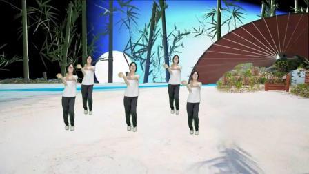 时尚动感健身广场舞《忘不了的某某某》舞蹈简单大方又好看