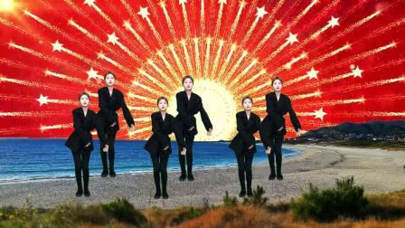 热门DJ广场舞《女人街》,歌曲经典,舞步动感,好听好看