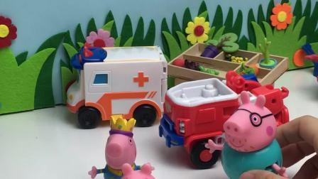 猪父亲骑车追佩奇乔治