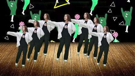 网红火爆歌曲《卓玛泉》男女老少都能跳,简单又好看