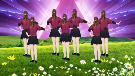 美女DJ广场舞《我从草原来》,动感旋律让人陶醉,尽情摇摆