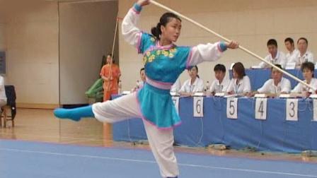 2006年全国青少年武术套路锦标赛 女子枪术 021 徐艳玲