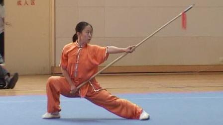 2006年全国青少年武术套路锦标赛 女子枪术 022 李智华
