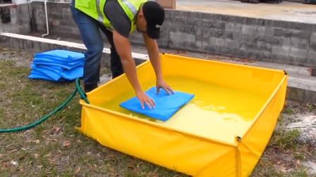 沙袋没有沙子,是怎么阻隔洪水的?看完长知识了