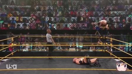NXT 老芬FinnBlaor二战杀手克罗斯 挑战NXT冠军失败