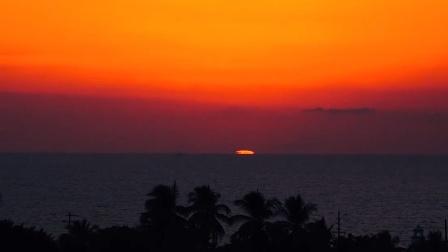 我在等你陪我看日出日落