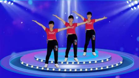郴州冬菊广场舞【杯酒敬爹娘】64步大众健身操附分解