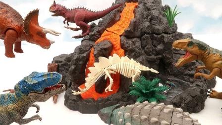 搭建侏罗纪恐龙公园模型