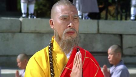 生死决:日本高僧挑战少林,两大高手见面便唇枪舌战,太精彩了