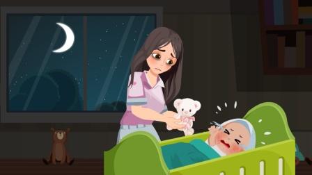 宝宝彻夜哭闹不肯睡?满脸疹子咋回事?科普婴儿湿疹发病全过程