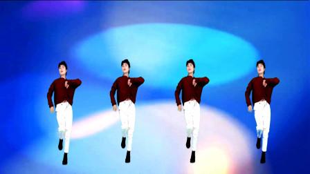 广场舞《抽烟伤肺喝酒伤胃》弹跳舞步活力十足,瘦腿效果好!