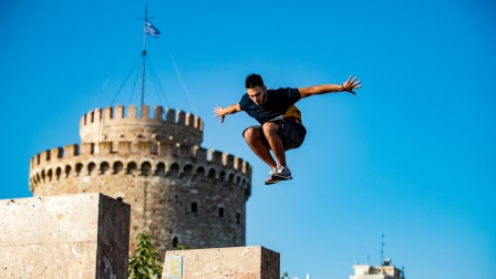 希腊跑酷运动员DK 2021家乡之旅