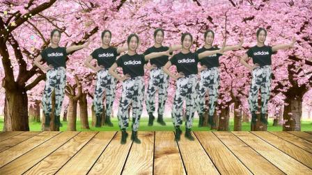 广场舞《中国喜事》歌曲动听,舞姿优美,简单易学