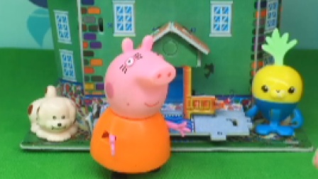猪妈妈心情不好,小猪一家都不敢吭气