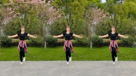 步子舞《多少次想起你dj》学会简单几个动作,瘦胳膊瘦腿很实用