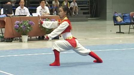 2006年全国女子武术套路锦标赛 女子长拳 002 胡情