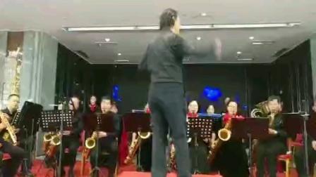 萨克斯管乐重奏《百年颂组曲》杭州市民萨克斯管乐团演奏 编曲指挥李定凯