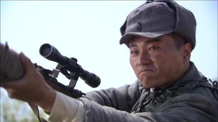 这才叫擒贼先擒王,八路顶尖狙击手一枪击毙指挥官,敌后引爆地雷