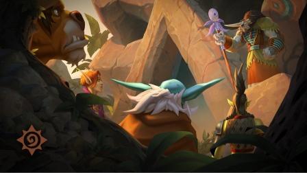 """前进""""哀嚎洞穴""""!《炉石传说》全新迷你系列动画预告"""
