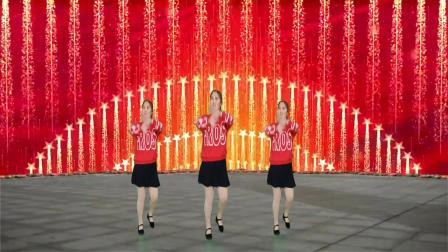 一首情歌DJ《一不小心把你爱》广场舞,美女动感舞姿时尚