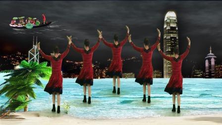《雨中 泪》流行现代舞,动作欢快好学又健身